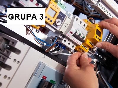 Eksploatacja urządzeń, instalacji i sieci gazowych wytwarzających, przetwarzających, przesyłających, magazynujących i zużywających paliwa gazowe grupa 3